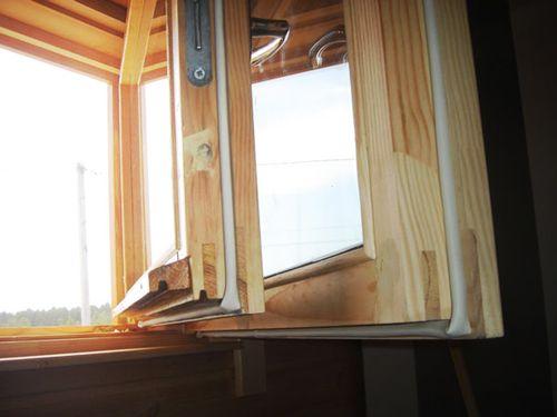 уплотнитель для деревянного окна