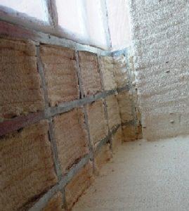 балкон, утеплённый пенополиуретановым напылением