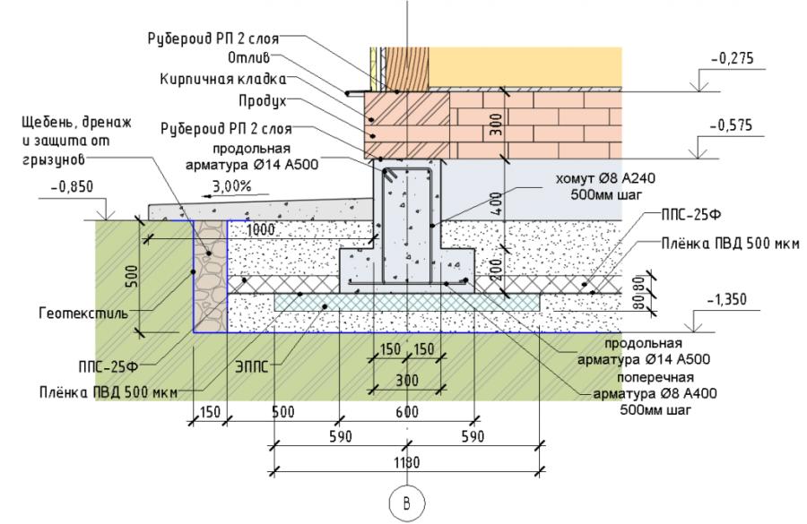 Типовая конструкция МЗЛФ
