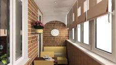 утеплённый балкон