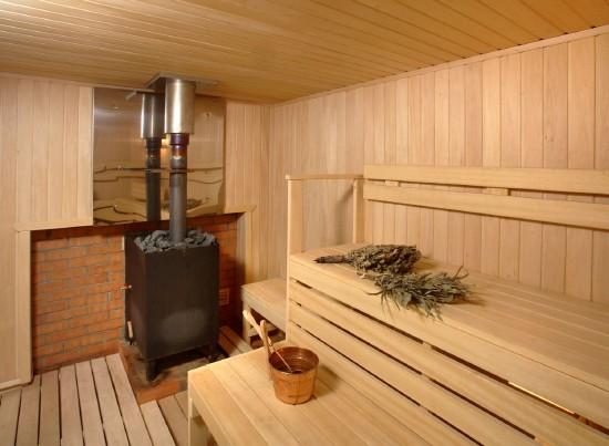 Утепление кирпичной бани у печи