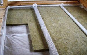 Защита минеральной ваты от влаги