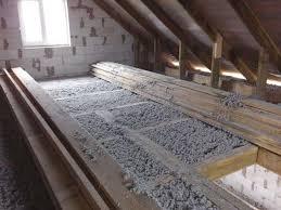 Утепление потолка бани самодельной пеной