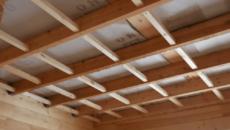 Утепление потолка с холодной крышей