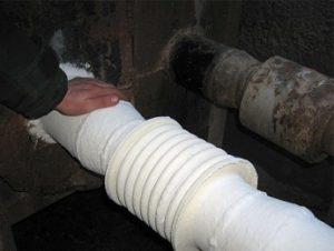 Обмазочный утеплитель для труб