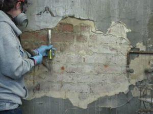 Подготовка стен к пенополистиролу