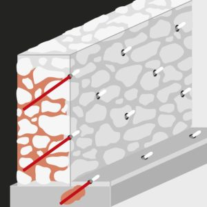инъекционная гидроизоляция: схема