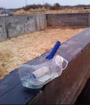 Жидкое стекло - распростаранённый гидроизолирующий материал