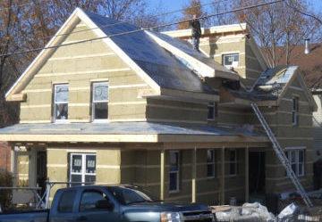 Утепление брусового дома снаружи под сайдинг