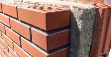 Утепление фасада кирпичного дома - обзор проверенных методов