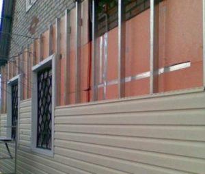 Пример теплоизоляции кирпичного дома пеноплексом