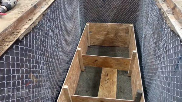сетка рабица для укрепления стенок