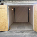 утеплённый изнутри гараж