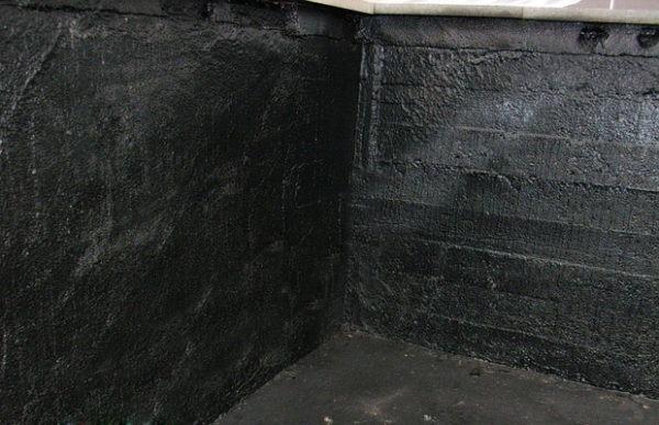 гидроизоляция стен овощной ямы