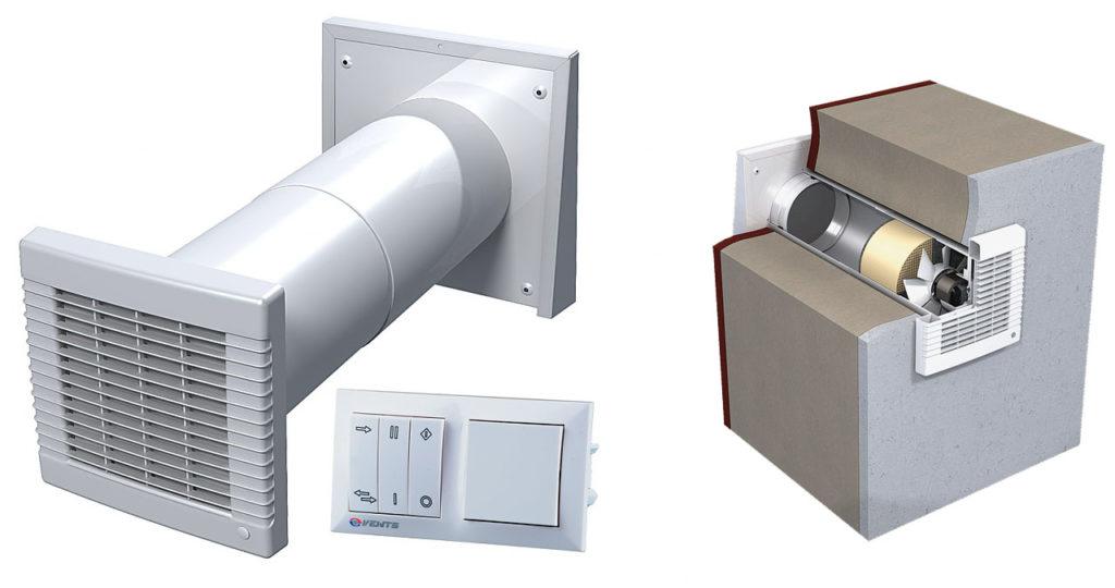 Рекуператор для вентиляции квартиры в зимнее время