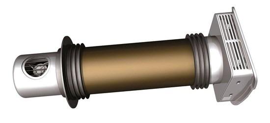 Рекуператор пластиковый с этиленгликолем