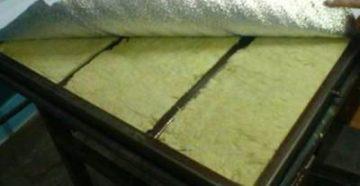 теплоизоляция дверного полотна