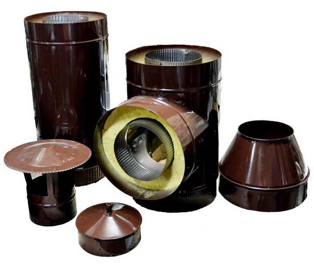 Существуют специальные комплектующие для утепления труб