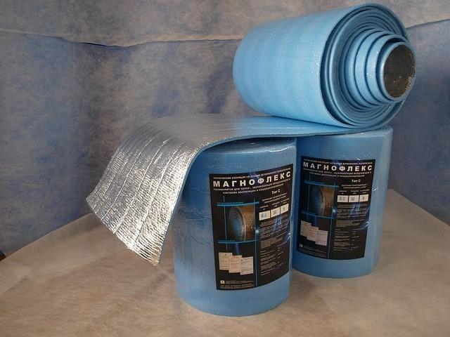 Магнофлекс - одна из марок энергоэффективной изоляции