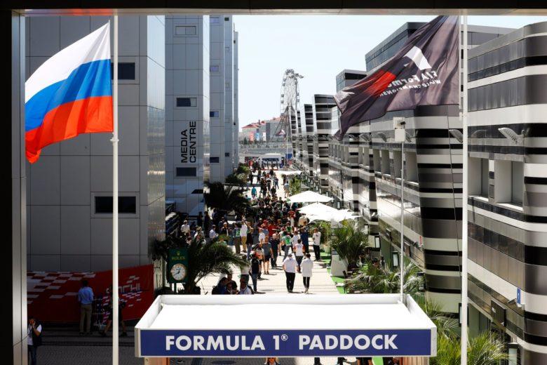 Паддок Формулы-1 в Сочи