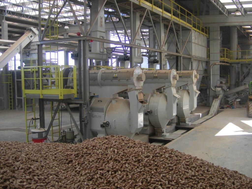 Линия по производству пеллет